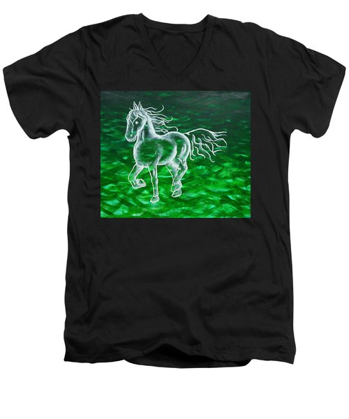 Astral Horse Men's V-Neck T-Shirt