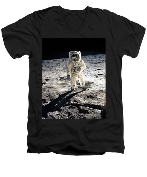 Astronaut Men's V-Neck T-Shirt