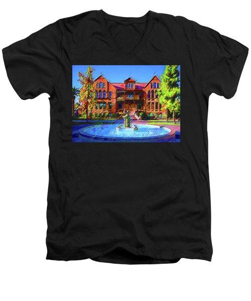 Asu Old Man Men's V-Neck T-Shirt