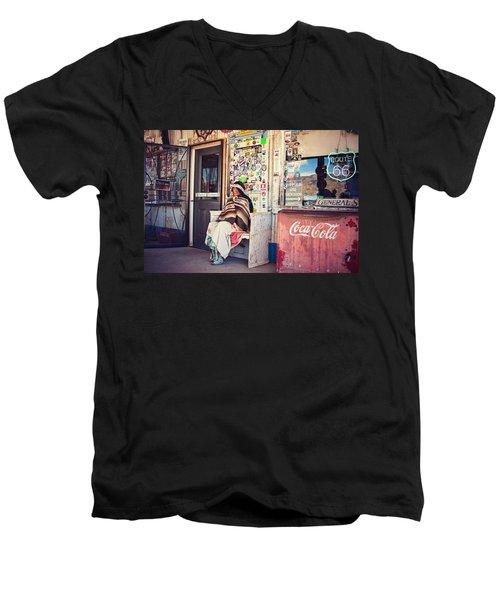 At The Hackberry General Store Men's V-Neck T-Shirt