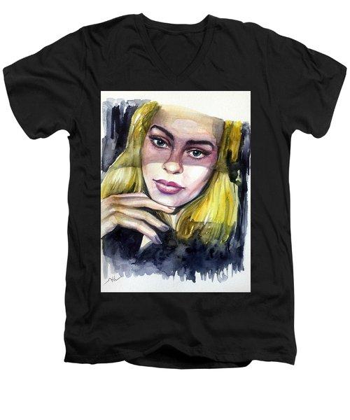 Athina Men's V-Neck T-Shirt