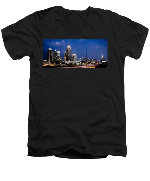 Atlanta Midtown Men's V-Neck T-Shirt