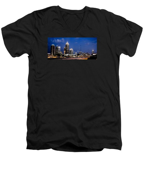 Atlanta Midtown Men's V-Neck T-Shirt