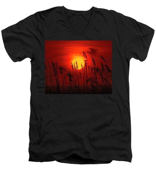 Atlantic Sunrise #2 Men's V-Neck T-Shirt