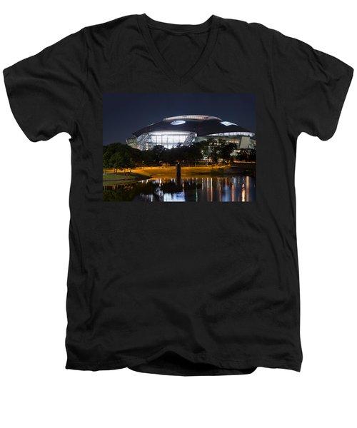 Dallas Cowboys Stadium 1016 Men's V-Neck T-Shirt