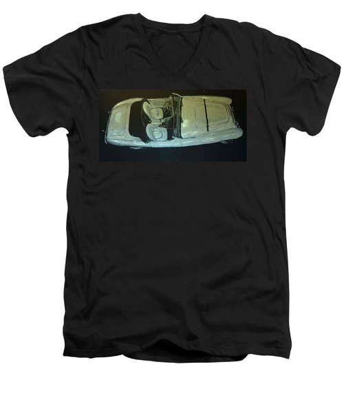 Austin Healy Lm Men's V-Neck T-Shirt