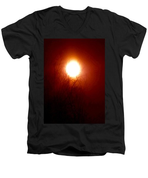 Autumn Burns The Memory Men's V-Neck T-Shirt