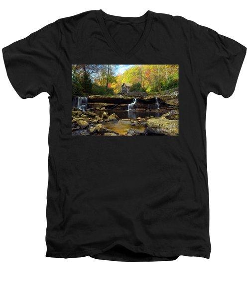 Autumn Fantasia Men's V-Neck T-Shirt