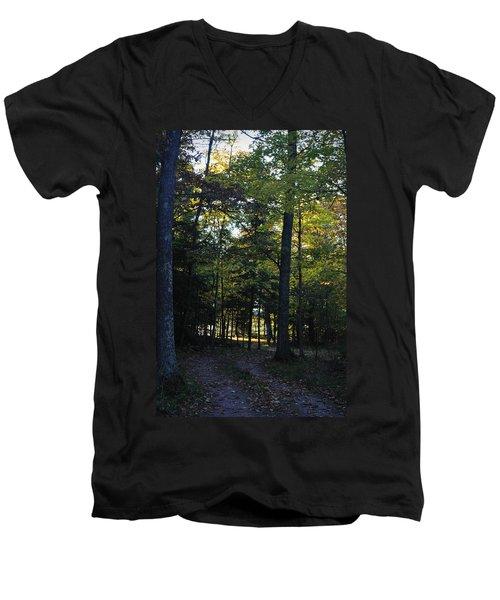 Autumn Glen Men's V-Neck T-Shirt