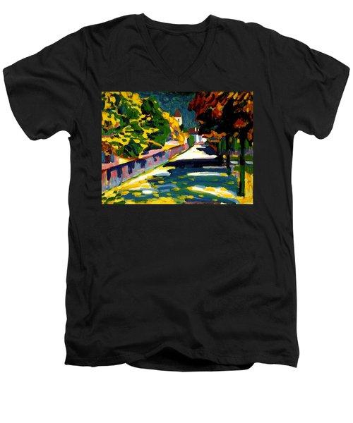 Autumn In Bavaria Men's V-Neck T-Shirt