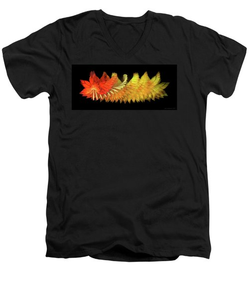 Autumn Leaves - Composition 2.2 Men's V-Neck T-Shirt