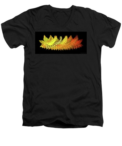 Autumn Leaves - Composition 2.3 Men's V-Neck T-Shirt