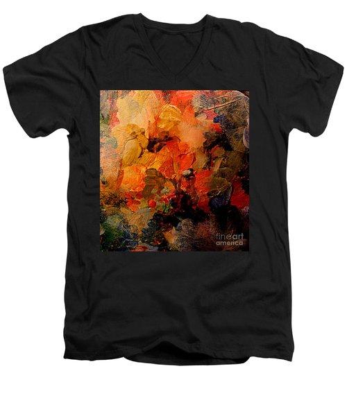 Autumn Tapestry Men's V-Neck T-Shirt
