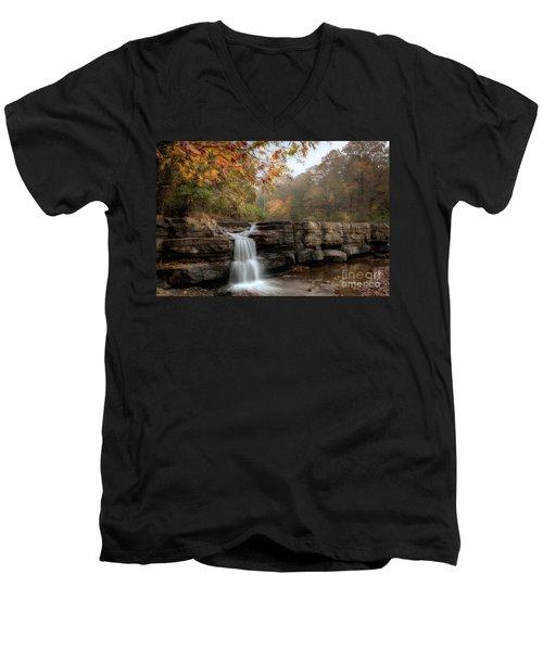 Autumn Water Men's V-Neck T-Shirt
