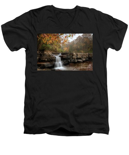 Autumn Water Men's V-Neck T-Shirt