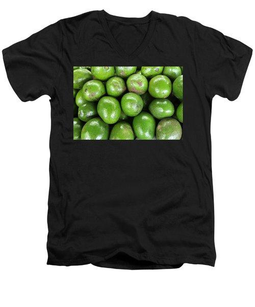 Avocados 243 Men's V-Neck T-Shirt