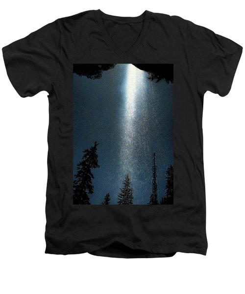 Awakening Light Men's V-Neck T-Shirt
