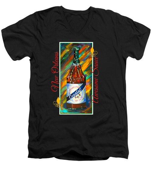 Awesome Sauce - Crystal Men's V-Neck T-Shirt