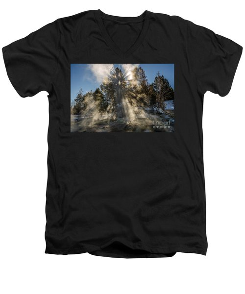 Awestruck Men's V-Neck T-Shirt