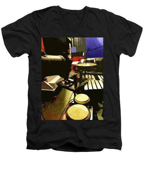 Backstage, Putting It Together Men's V-Neck T-Shirt