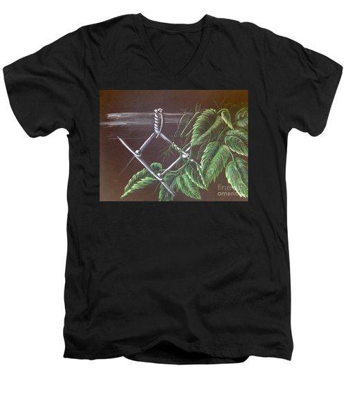 Backyard  Men's V-Neck T-Shirt