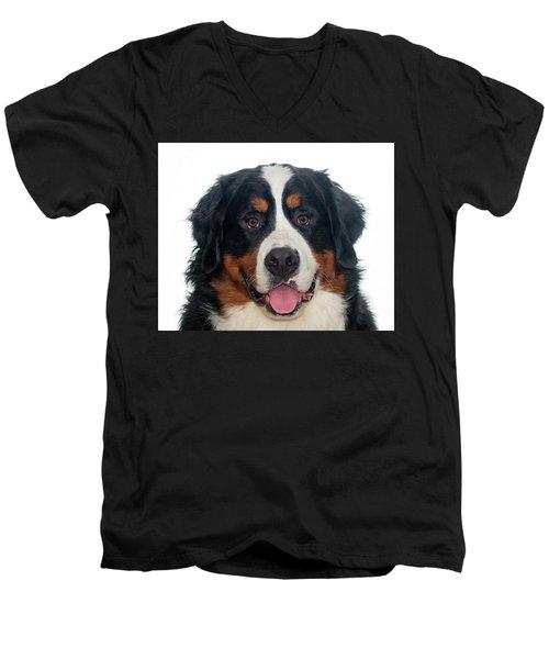 Badger Men's V-Neck T-Shirt