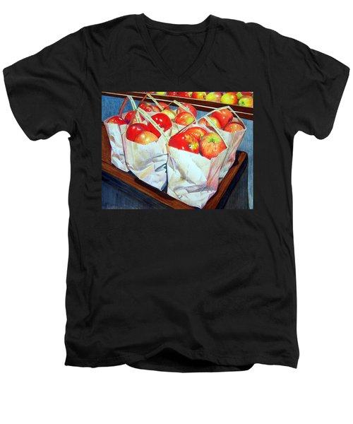Bags Of Apples Men's V-Neck T-Shirt