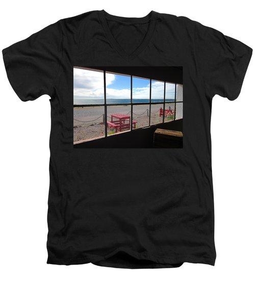 Bahia Bustamante Window Men's V-Neck T-Shirt