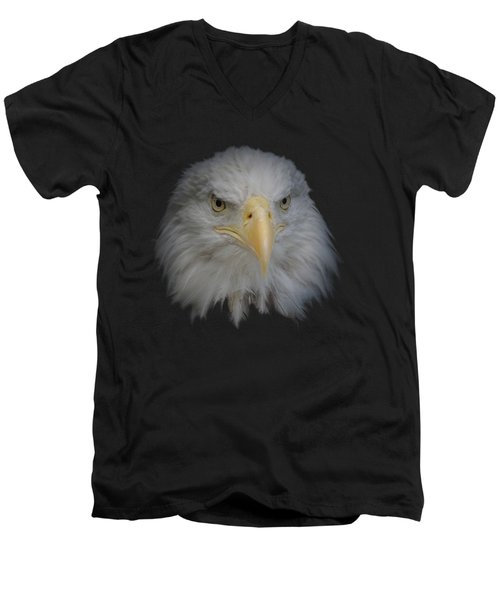 Bald Eagle 1 Men's V-Neck T-Shirt