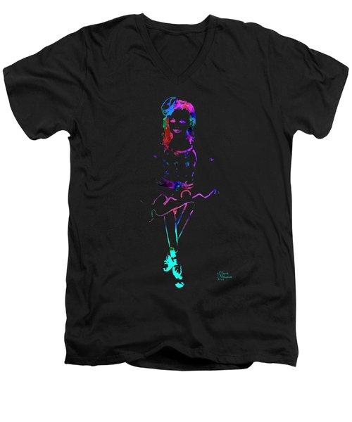 Ballerina 4 Men's V-Neck T-Shirt