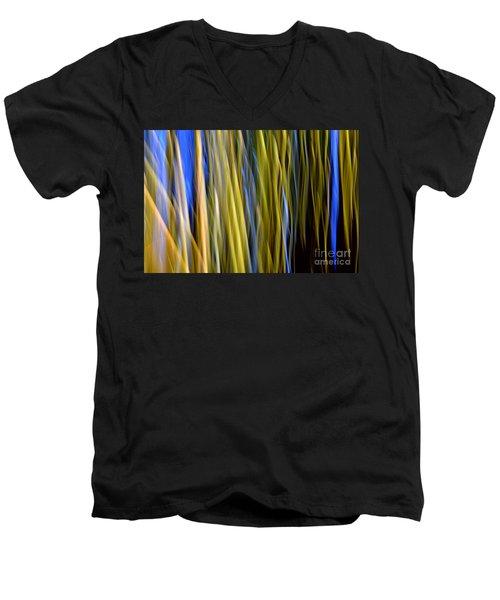 Bamboo Flames Men's V-Neck T-Shirt