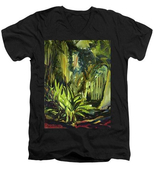 Bamboo Garden I Men's V-Neck T-Shirt