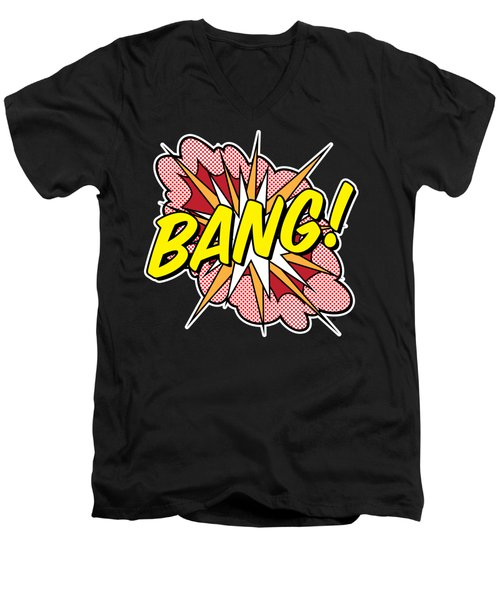 Bang Men's V-Neck T-Shirt