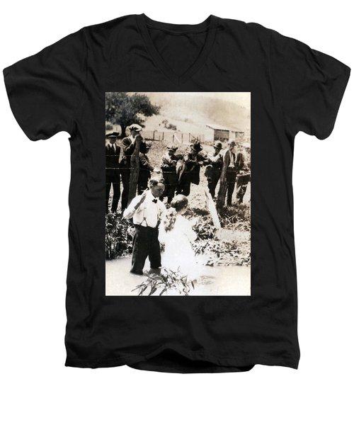 Baptism Men's V-Neck T-Shirt