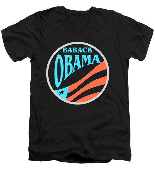 Barack Obama Design Men's V-Neck T-Shirt