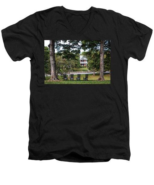 Bardstown Rockers  Men's V-Neck T-Shirt