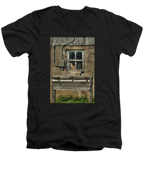 Barn Cat Men's V-Neck T-Shirt