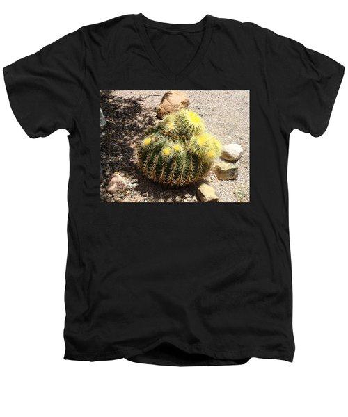 Barrel Of Cactus Needles Men's V-Neck T-Shirt