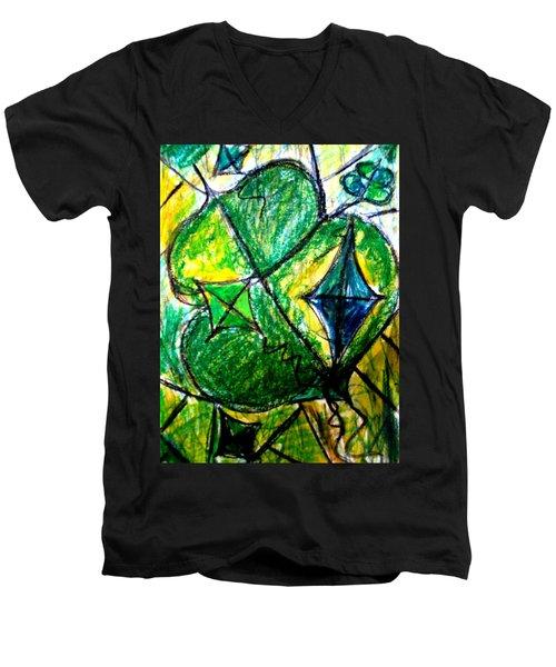 Basant  Men's V-Neck T-Shirt