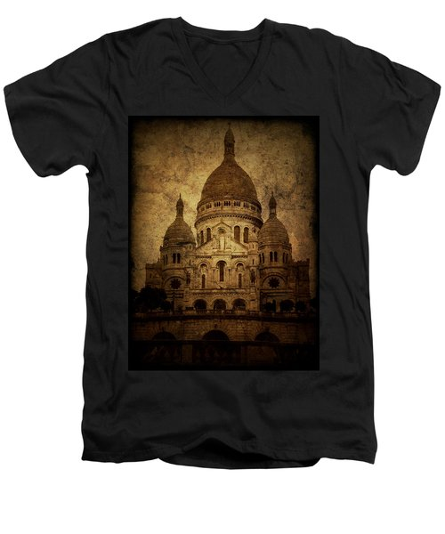 Basilica Men's V-Neck T-Shirt