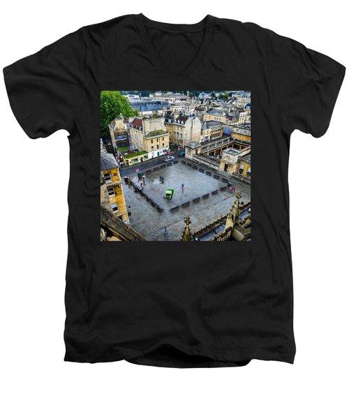 Bath Square Men's V-Neck T-Shirt