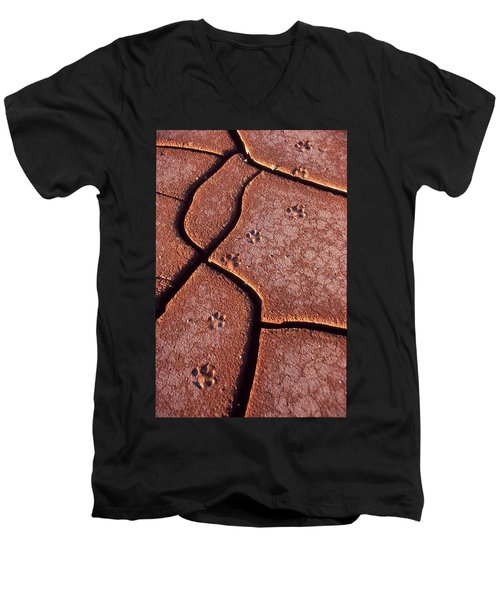Be On The Lookout Men's V-Neck T-Shirt