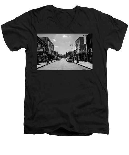 Beale Street Basics Men's V-Neck T-Shirt