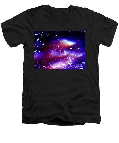 Beaming Light Men's V-Neck T-Shirt