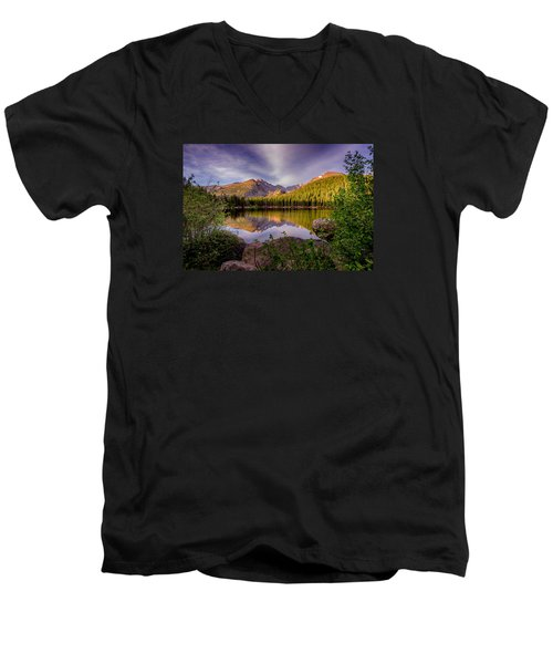 Bear Lake 2 Men's V-Neck T-Shirt
