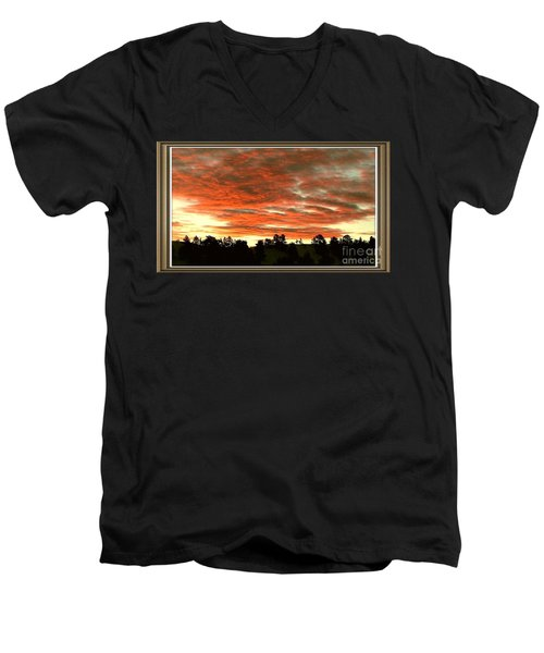 Beautiful Sunset Men's V-Neck T-Shirt