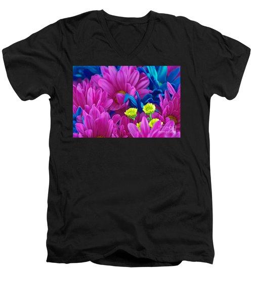 Beauty Among Beauty Men's V-Neck T-Shirt by Ray Shrewsberry