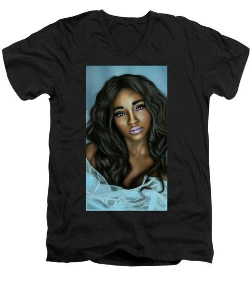Beauty In Black Men's V-Neck T-Shirt