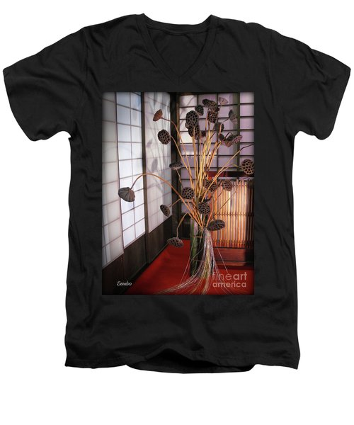 Beauty In Death Men's V-Neck T-Shirt