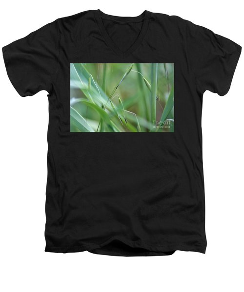 Beauty In Simplicity Men's V-Neck T-Shirt by Sheila Ping